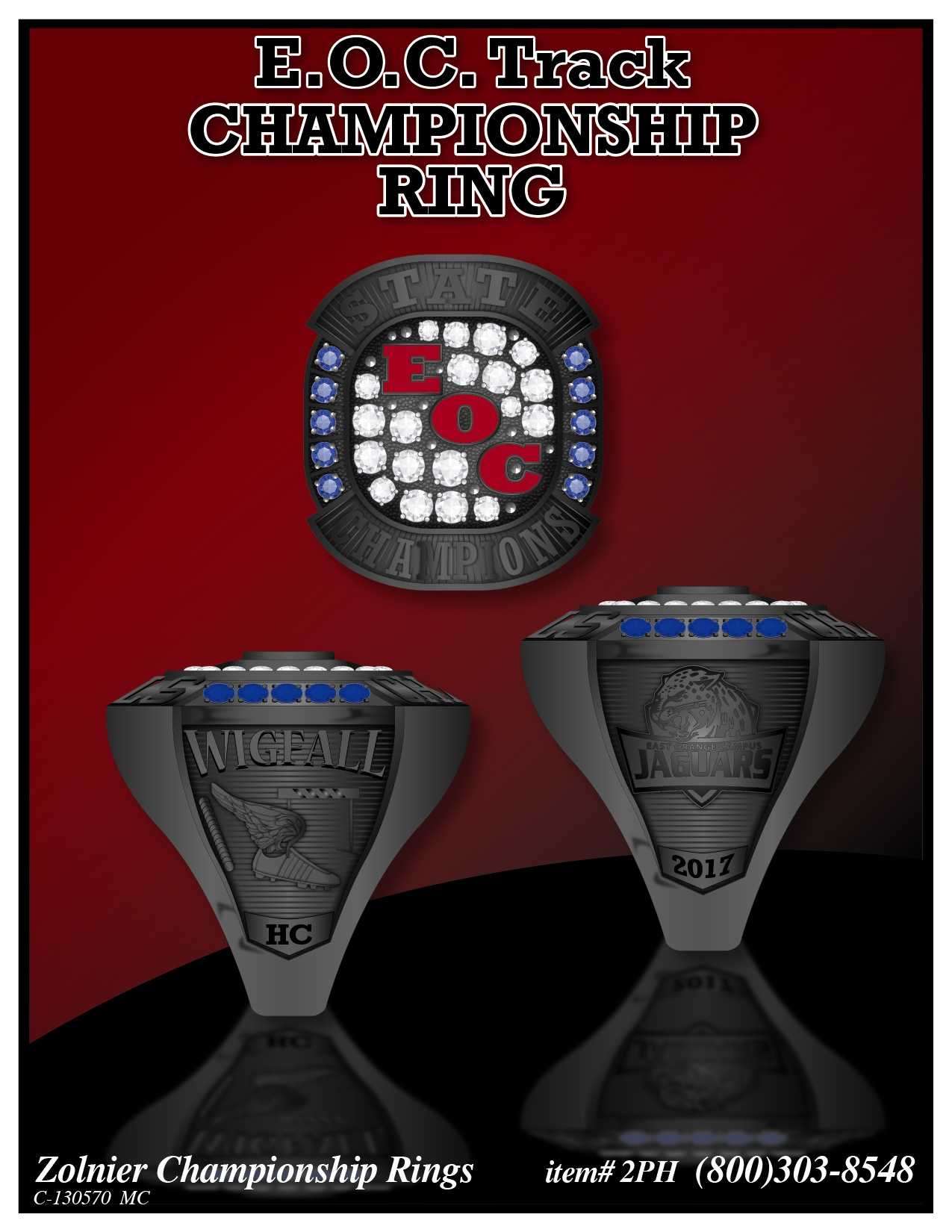 C-130570 EOC Track Championship Ring - Copy