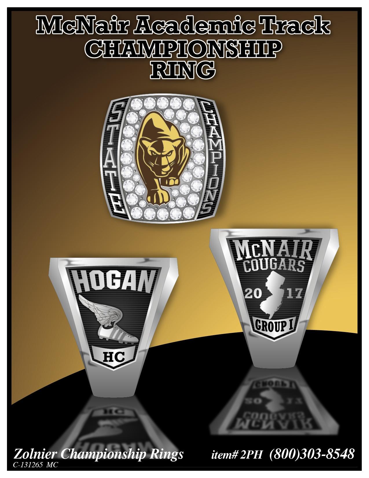 C-131265 McNair Track Championship Ring