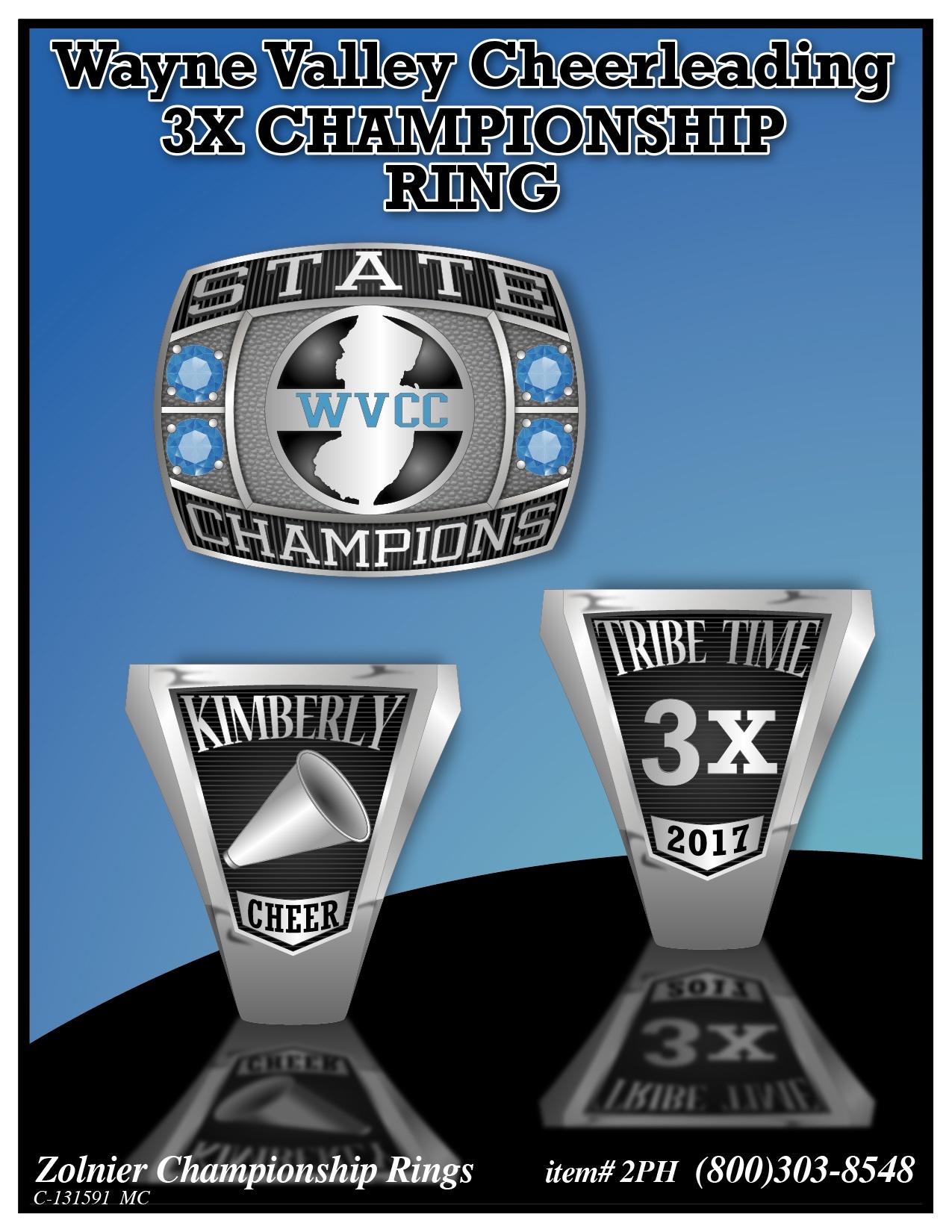 C-131591 Wayne Valley Cheerleading Ring