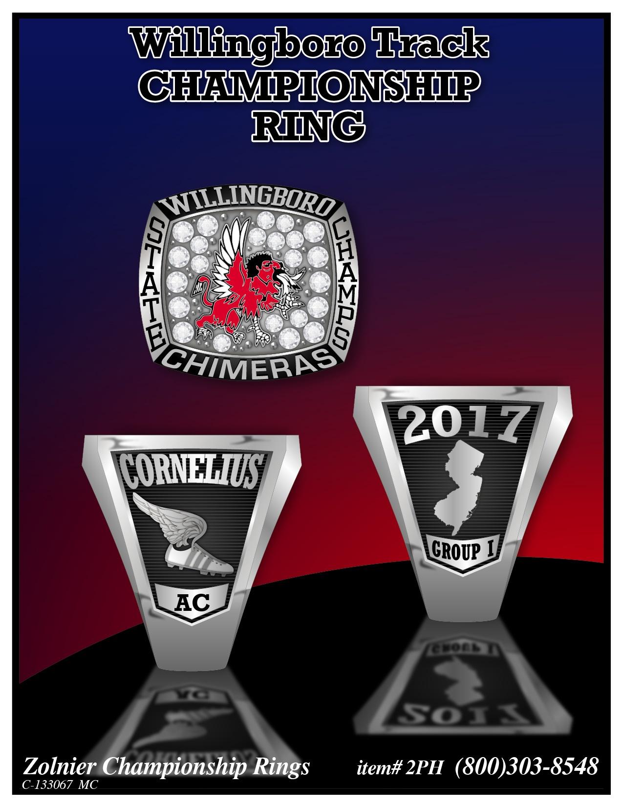 C-133067 Willingboro Track Championship Ring