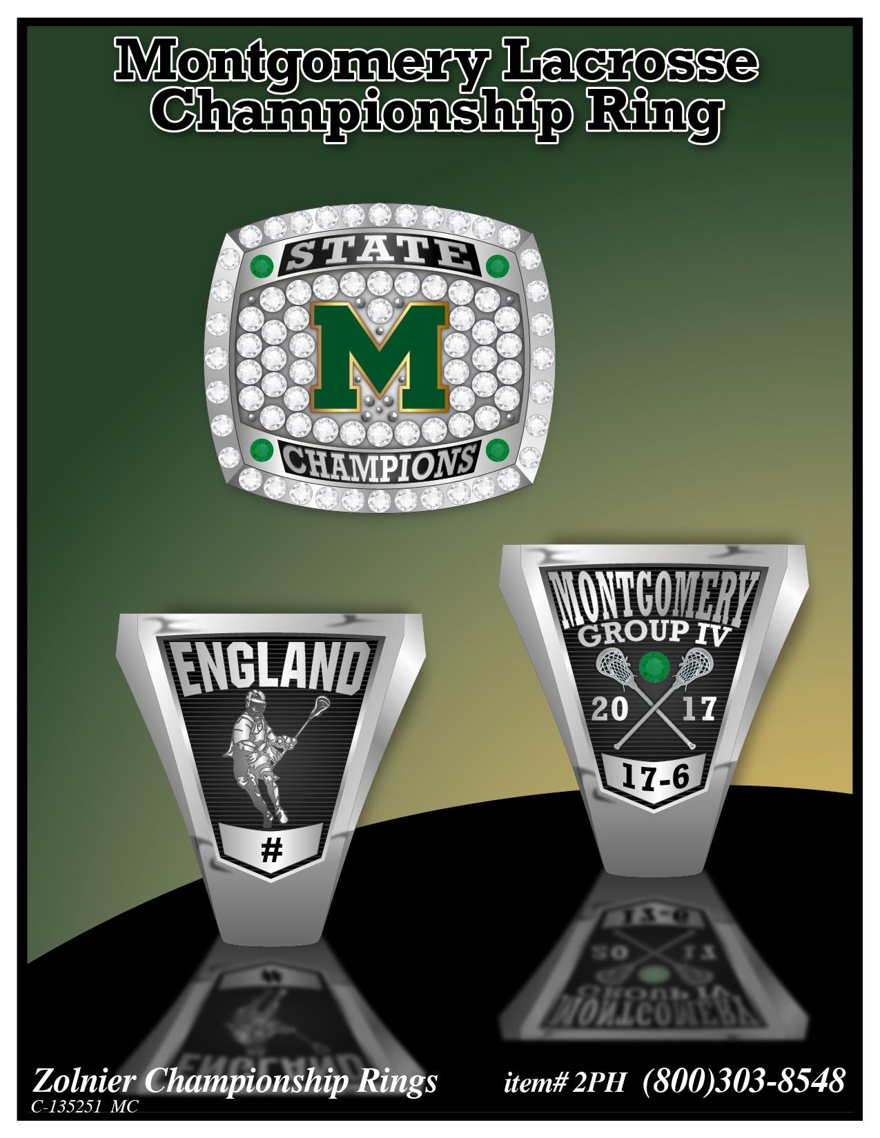 C-135251 Montgomery Lacrosse Champ Ring