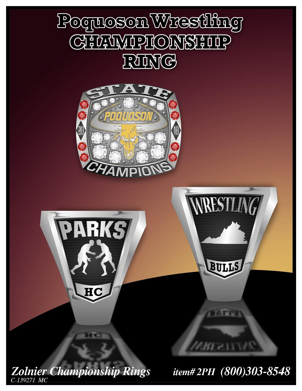 C-139271 Poquoson Wrestling Ring