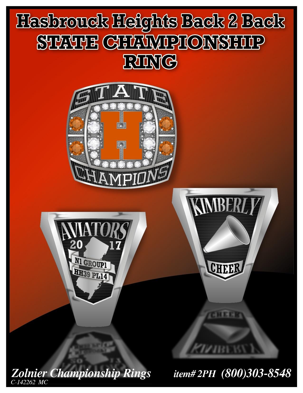 C-142262 Hasbrouck Heights Cheer Ring