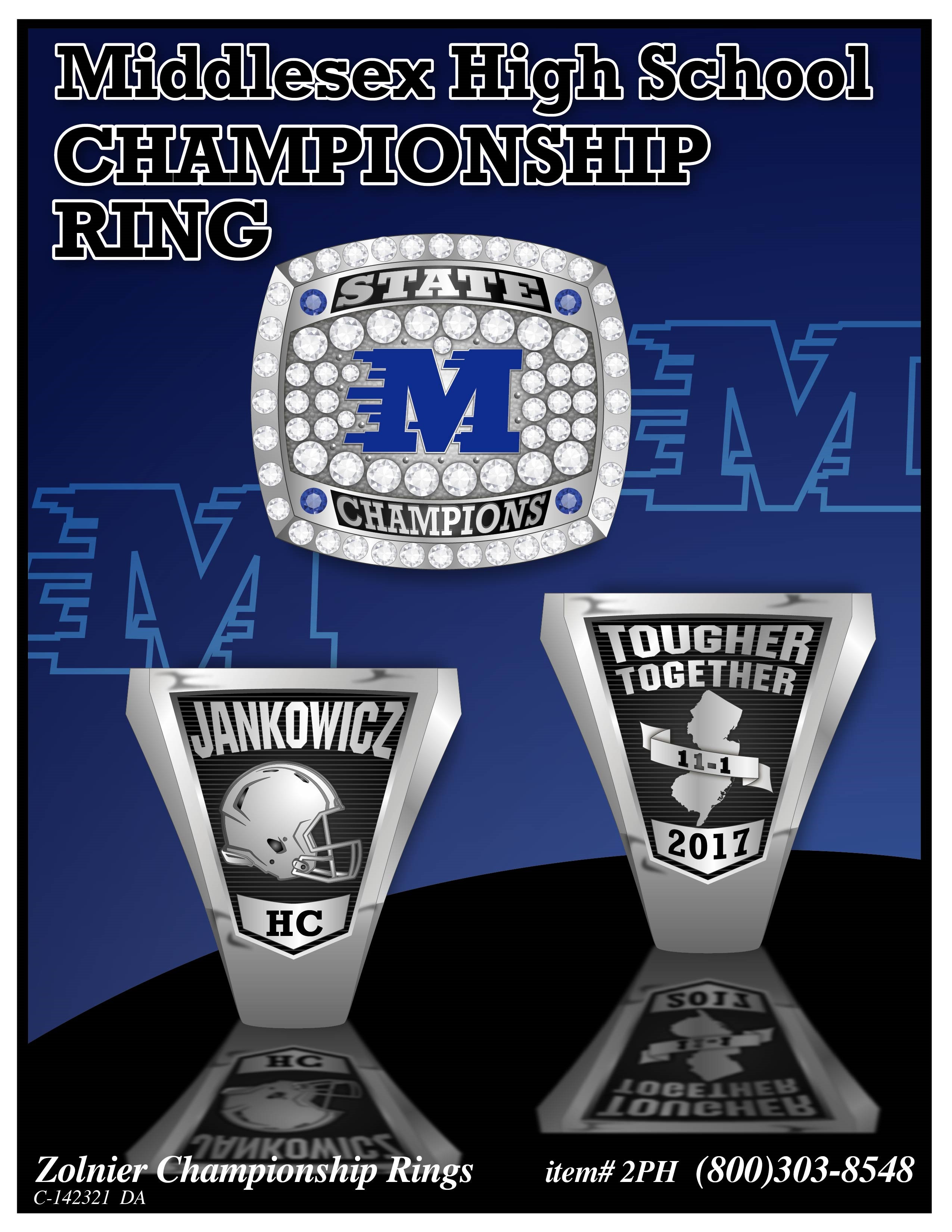 C-142321 Middlesex HS Champ Ring