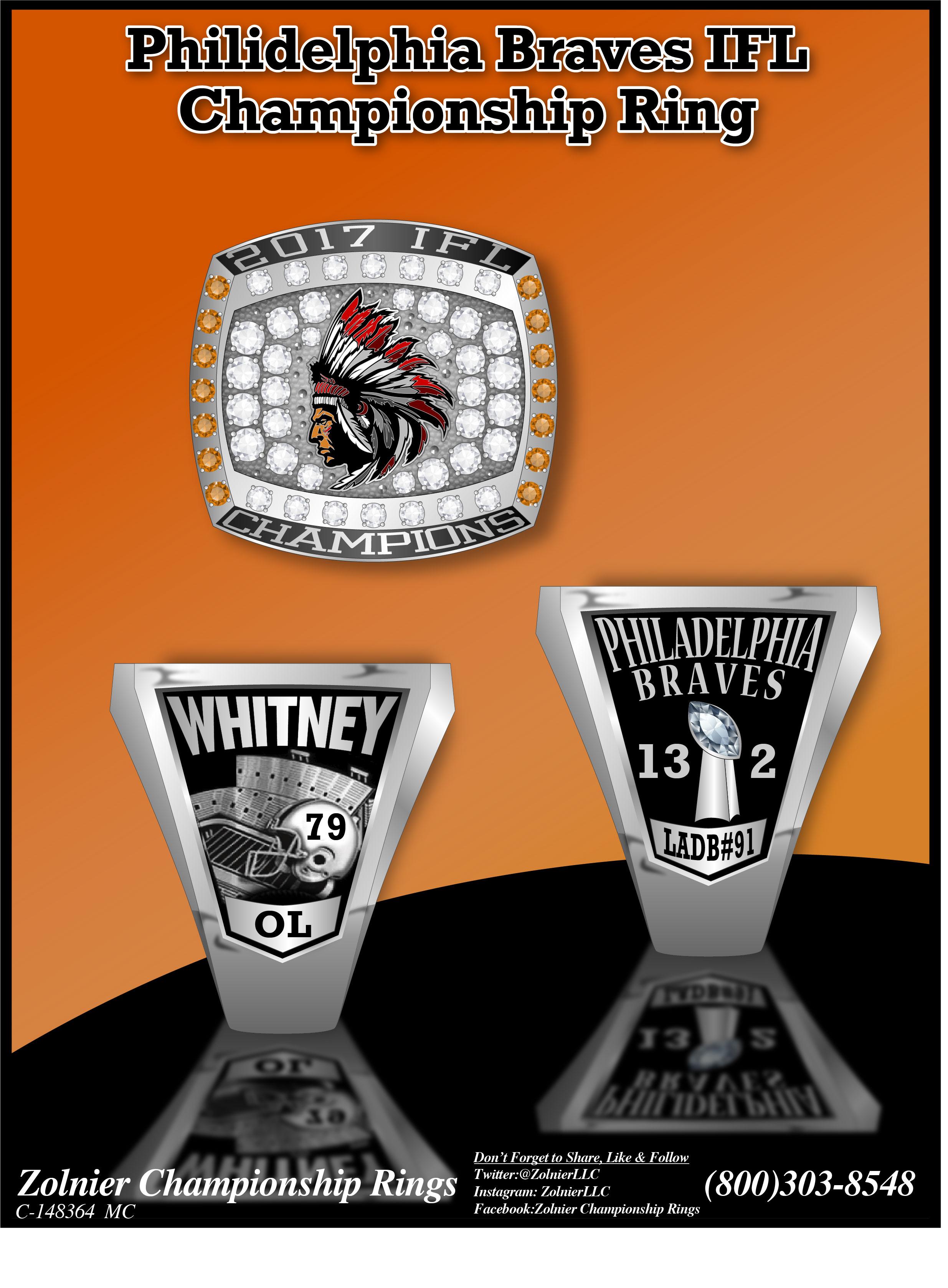 C-148364 Philadephia Braves Champ Ring 2