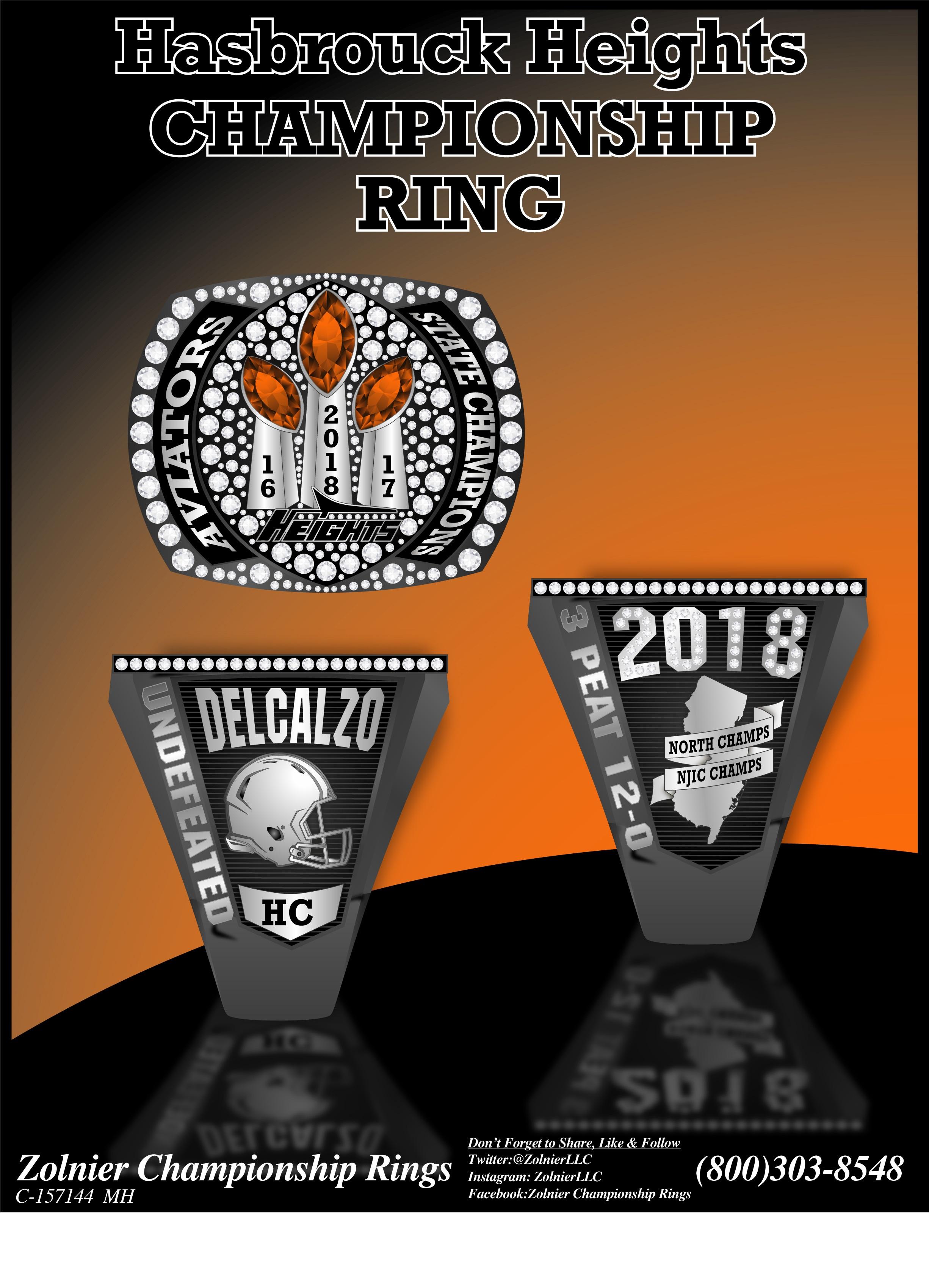 C-157144 ZOLNIER LLT Hasbrouck Heights Football Ring (1)