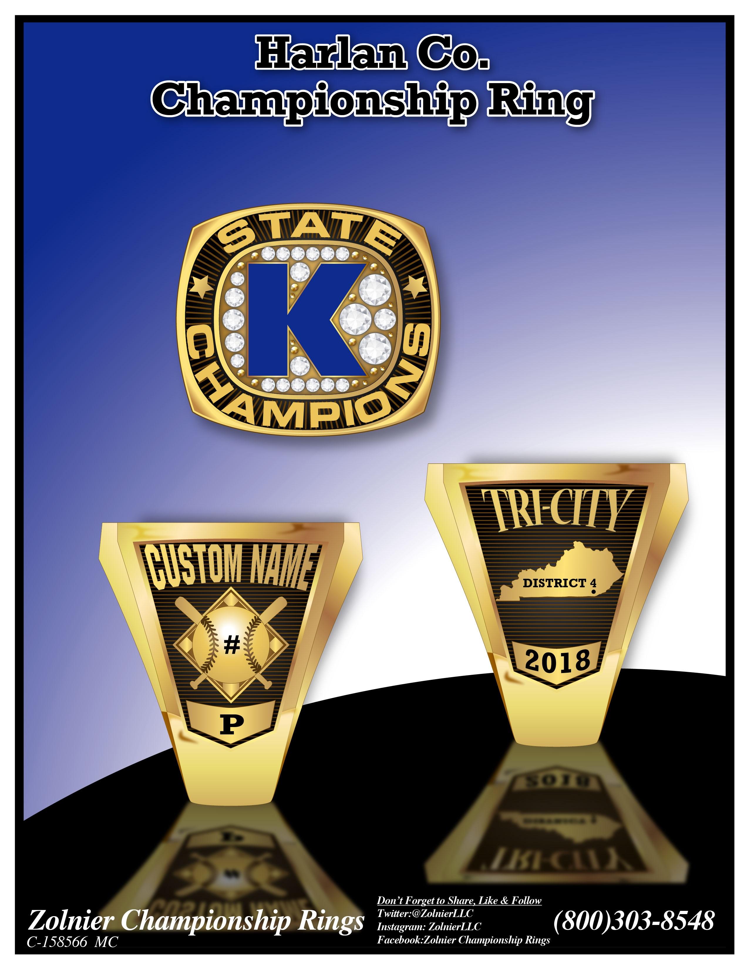 C-158284 Harlan County Champ Ring