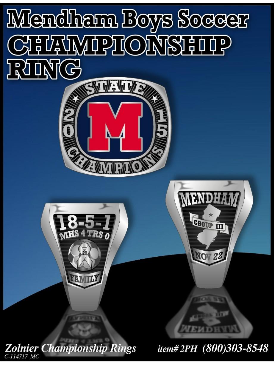 Mendham Championship Ring