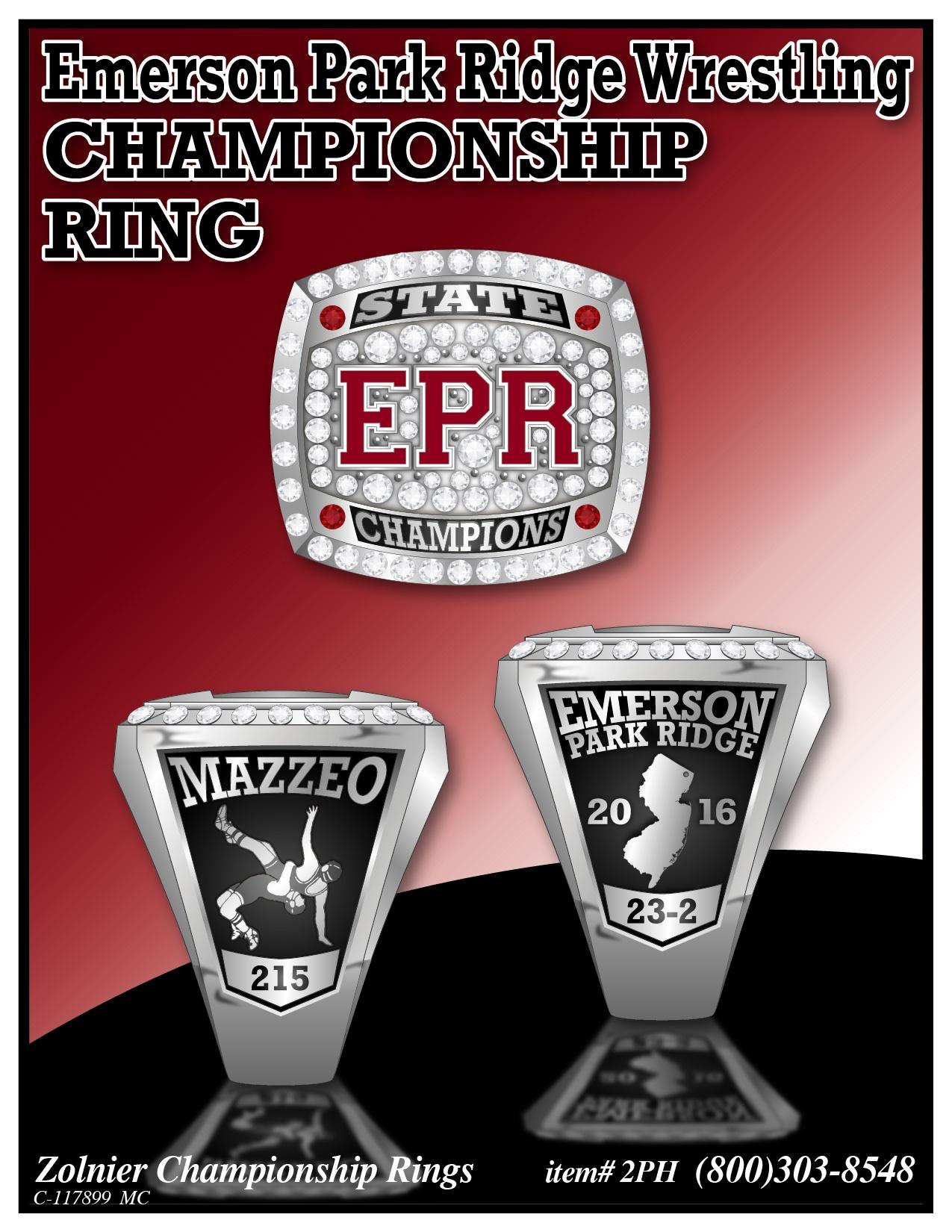 PIC - PO # 230 - Emerson Park Ridge Wrestling -