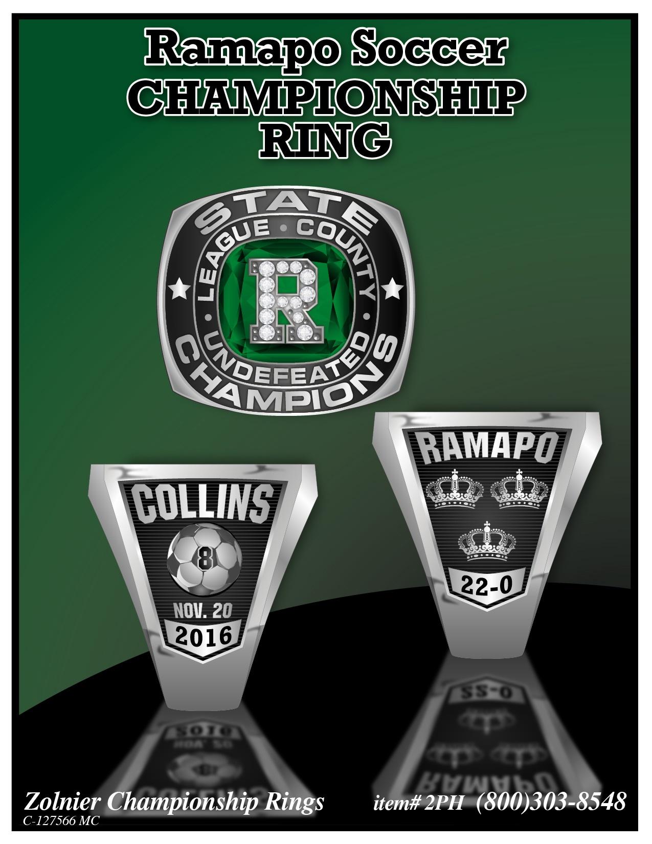 Ramapo Soccer Ring Boys