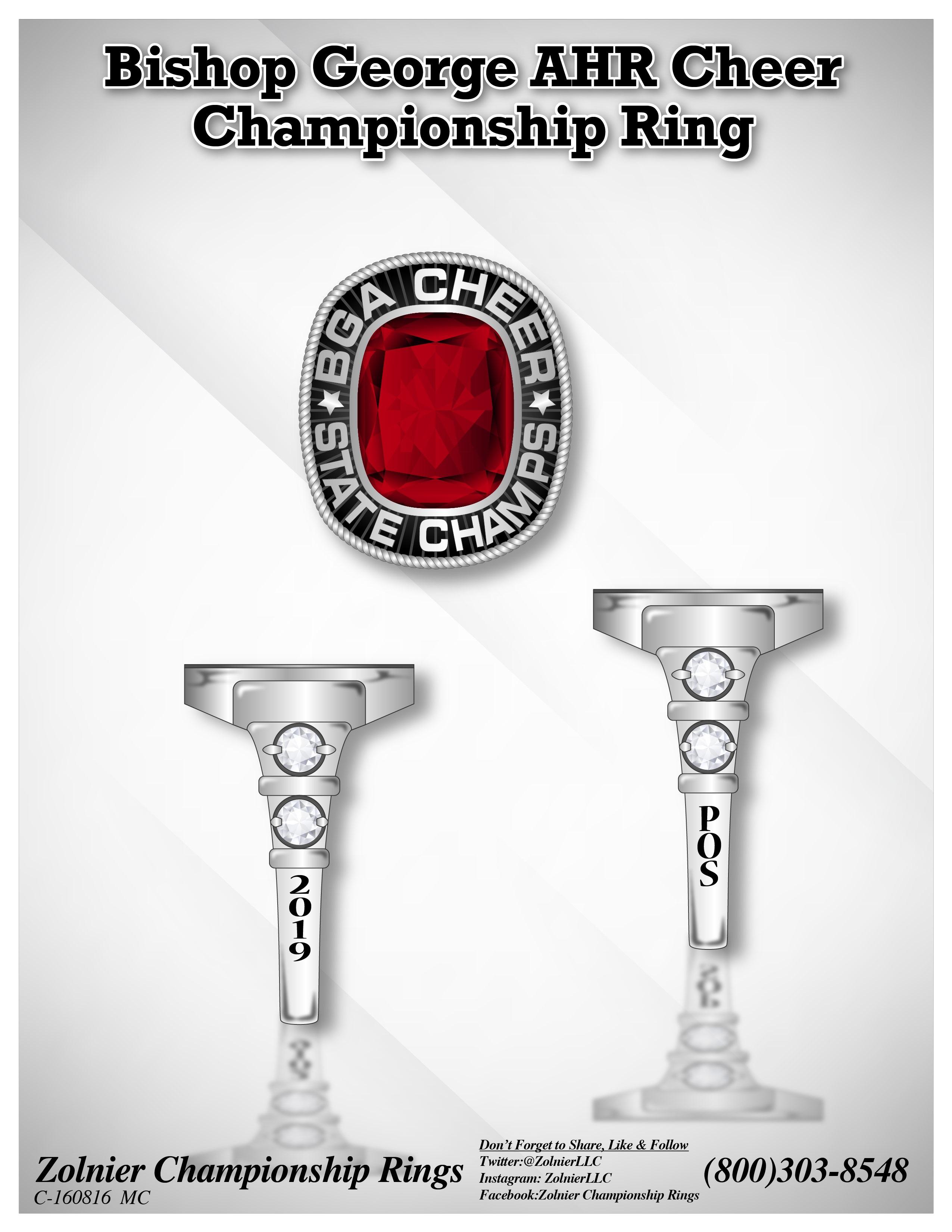 C-160816 Bishop AHR Cheer Ring
