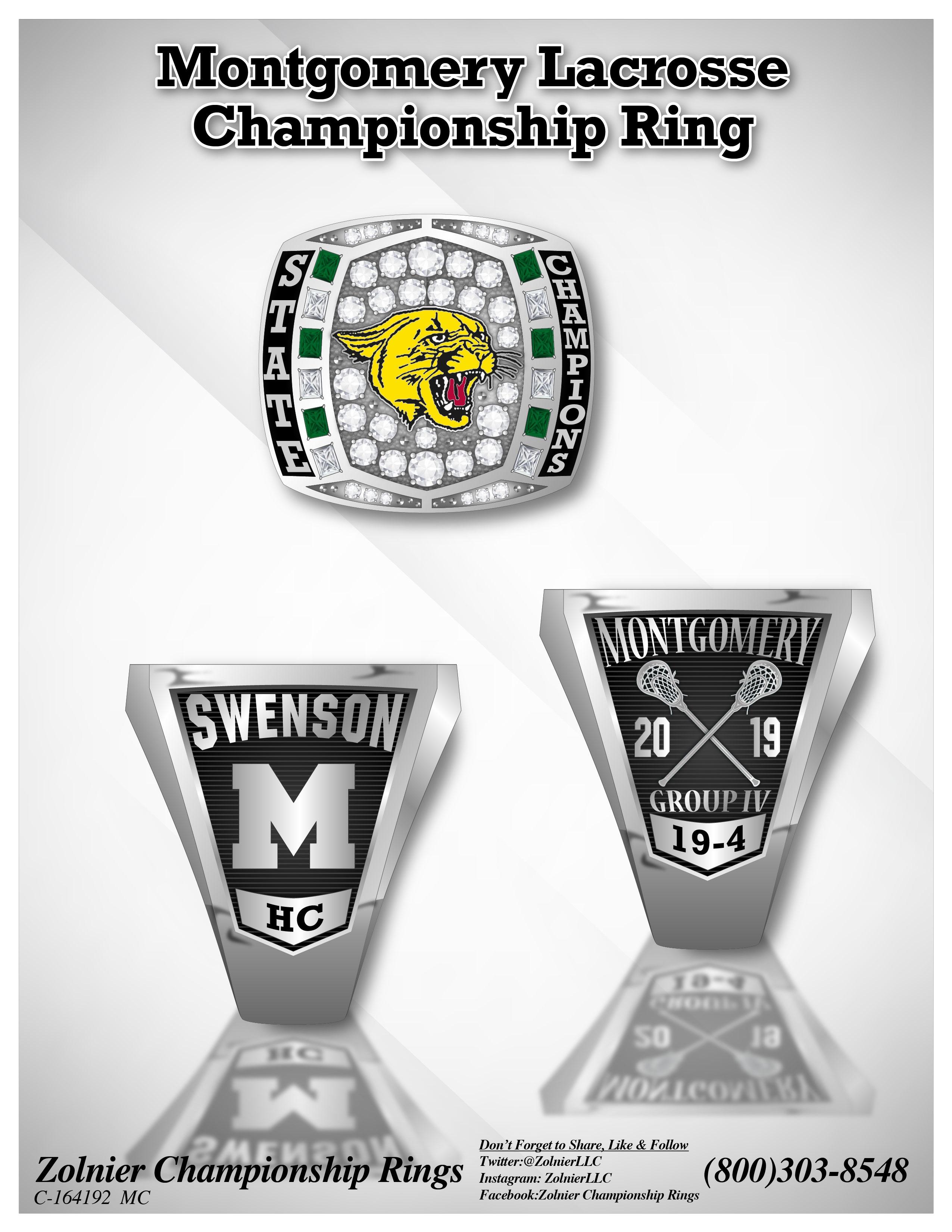 C-164192 Montgomery Lacrosse Champ Ring